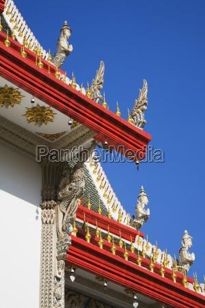 wat suan phlu temple bangkok thailand