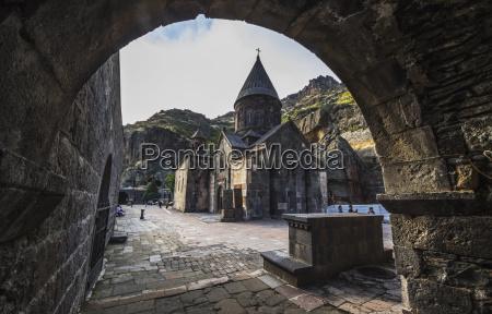 main church of geghard monastery azat