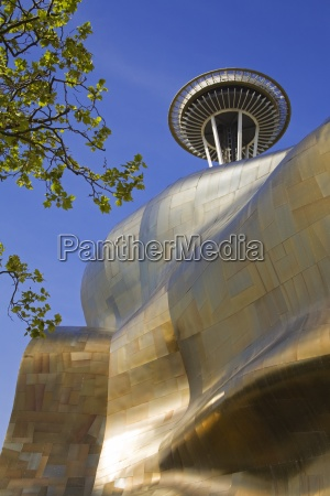 experience music project and space needle