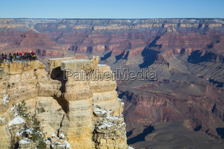 from mather point south rim grand
