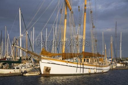 wooden sailing ship port townsend washington