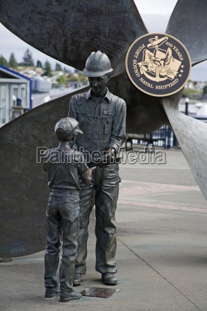 shipyard monument by larry anderson bremerton