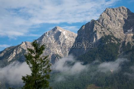 alpengipfel im werdenfelser land