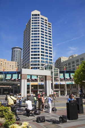 westlake center seattle washington state usa