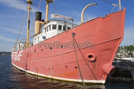 swiftsure lightship at northwest seaport museum