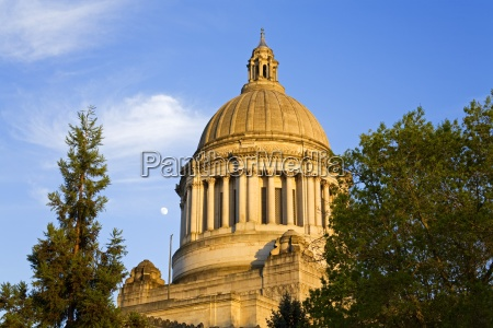 state capitol olympia washington state usa