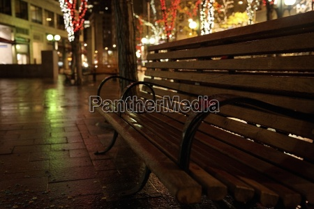seattle washington usa city park bench