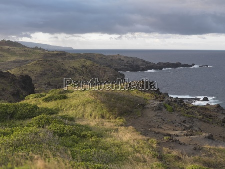 honokohau bay maui hawaii usa