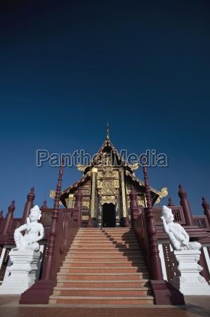 treppe, zu, den, rajapreuk, gärten, chiang, mai, thailand - 25417380