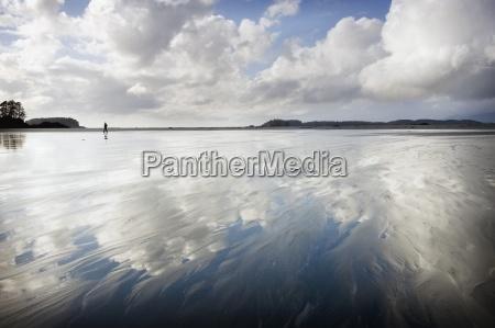 cloud reflections tofino vancouver island british