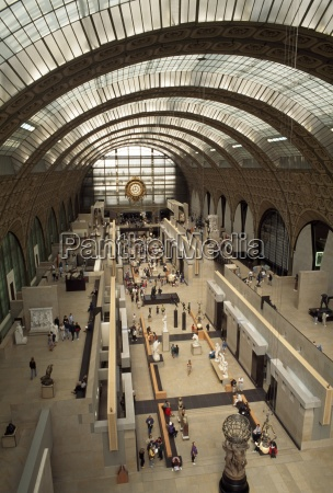 art museum musee dorsay paris france