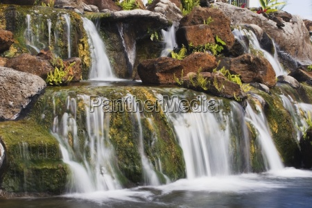 small waterfall kauai hawaii usa
