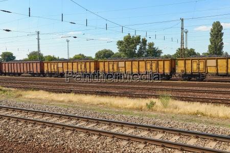 gueterbahn waggons