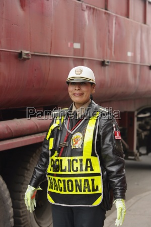 female police officer lima peru