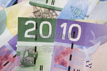 canadian ten and twenty dollar bills