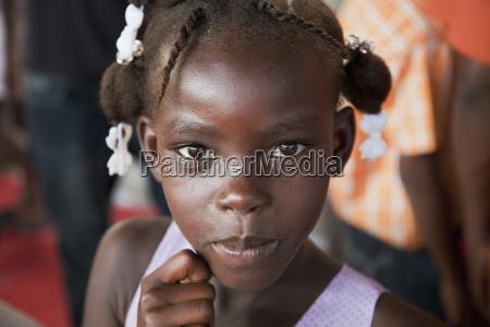 portrait of a girl port au