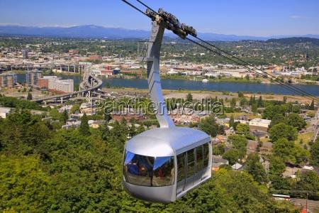 ohsu tram und mount hood portland
