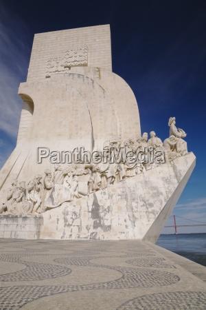 discoveries monument lisbon portugal