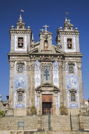 santo ildefonso church porto portugal