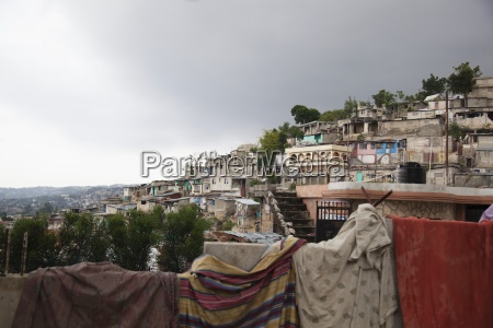 homes on a hillside after the