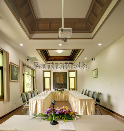 meeting room in horizon village resort