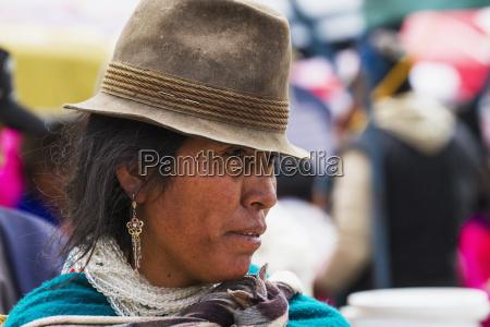 ecuadorian woman guamote chimborazo ecuador