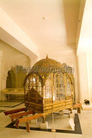 india rajasthan royal gold carriage on