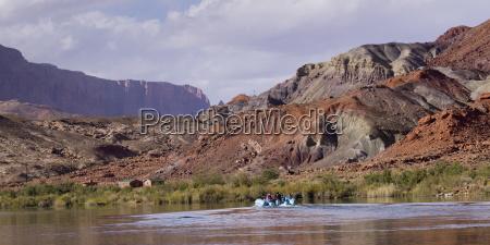 den colorado hinunter schweben arizona vereinigte
