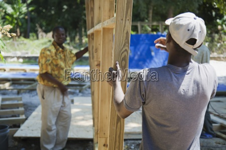 haitians rebuild after the earthquake port