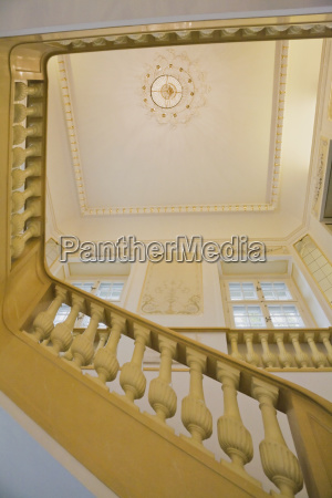 interior staircase in the frederic chopin
