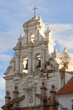 bell tower of hospital santa barbara