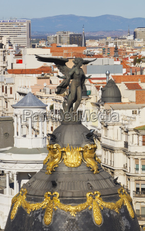 the dome and angel of the