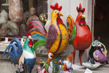 hand painted birds and other animals