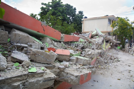 destruction of schools from the earthquake