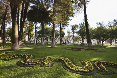 parque bolvar sucre chuquisaca department bolivia