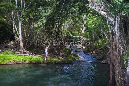 kipu falls is a secret swimming