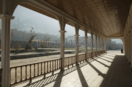 pavilion portico at the bagh i