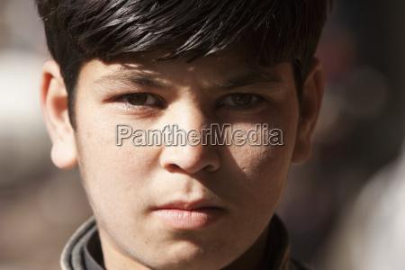 afghan boy in kabul afghanistan