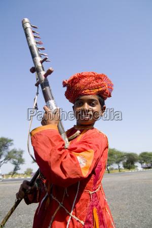 india rajasthan road to jodhpur young