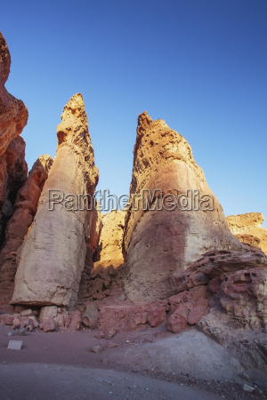sandstone formations called solomons pillars at
