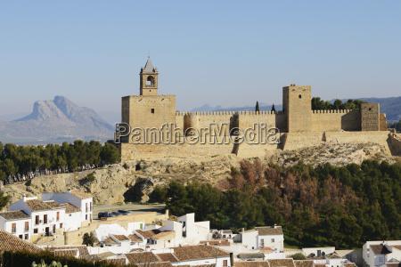 18th century alcazaba de antequera mit