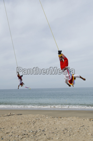 mexico jalisco puerta vallarta acrobats performing