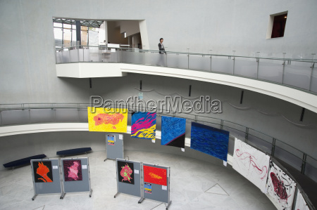 artwork on display in gallery nagasaki