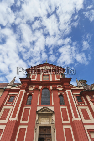 czech republic low angle view of