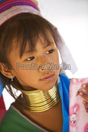 chiang mai thailandportrait of young girl