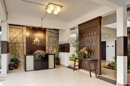 thailand lobby of horizon village resort