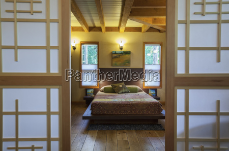 kanada britisch kolumbien japanische inspiriert schlafzimmer