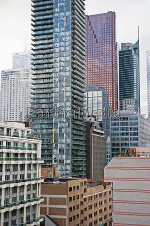 canada ontario various high rise buildings