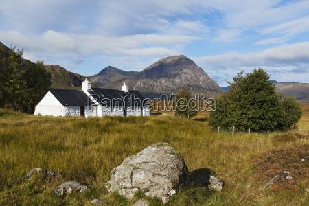 cottage near glencoe strathclyde region scotland