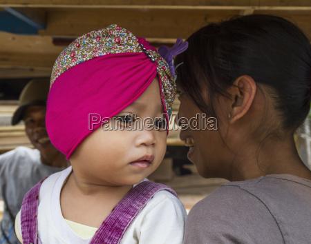 little girl semparu lombok west nusa